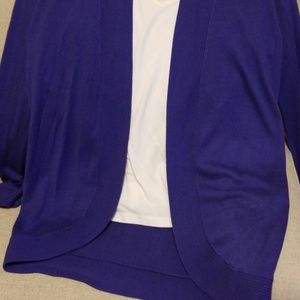 Chico's Sweaters - Chico's purple cardigan sweater